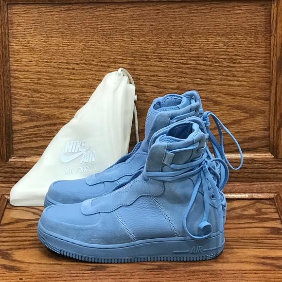 premium selection e46b7 63309 Nike AF1 Rebel XX Light Blue Shoes NWT